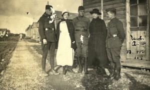 Anna C. Robinson, Belgium, ca. 1915